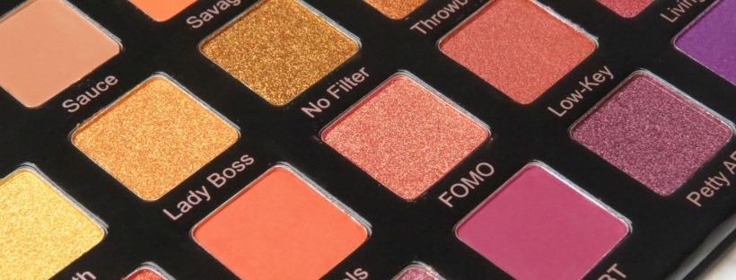 Violet Voss Hashtag Palette Swatches